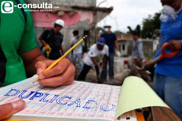 Censos de damnificados por el S-19 presentan inconsistencias