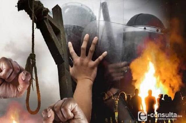 SSP rescató a dos hombres de ser agredidos en Tehuitzingo