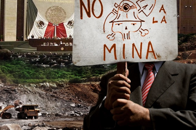 Suspender concesiones a mineras en Puebla, piden en San Lázaro