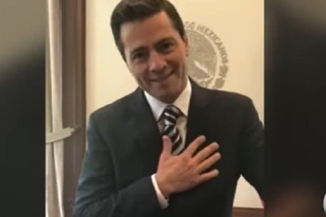 En total, Peña Nieto gastó 1.6 MDD para mejorar su imagen