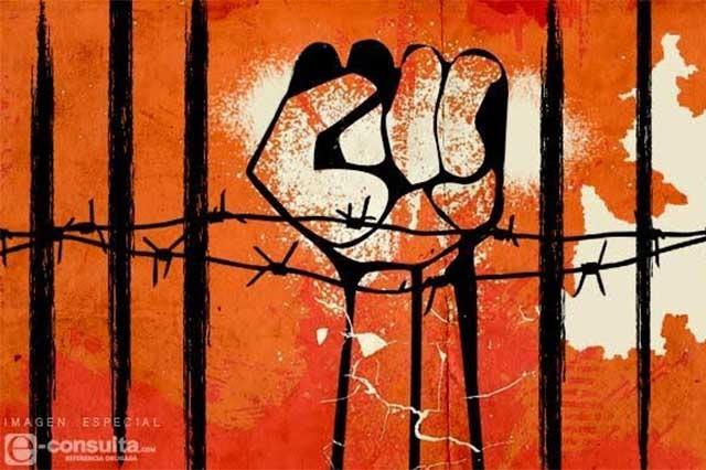 Piden posición de candidatos sobre presos políticos en Puebla