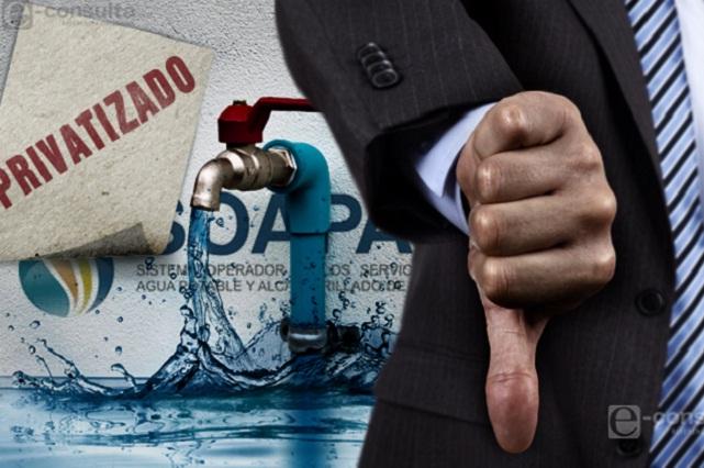 Irregularidades en el servicio caracterizaron concesión del agua