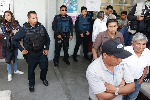 Por violencia no se contaron 67 urnas de 7 distritos en Puebla