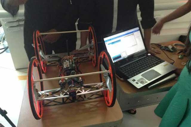 Estudiantes ITESM toman imágenes con drones para el NYT