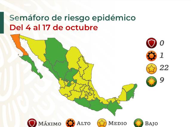Puebla sigue en amarillo y como penúltimo en vacunas