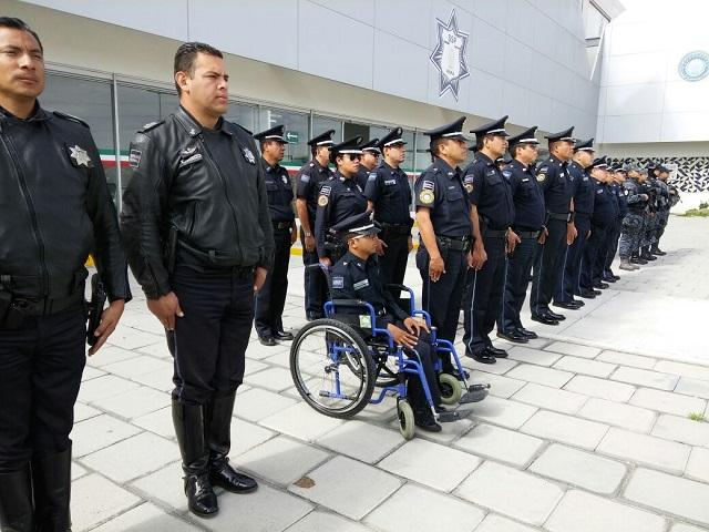 Resguardan las calles poblanas 500 elementos policiacos más: Carrasco
