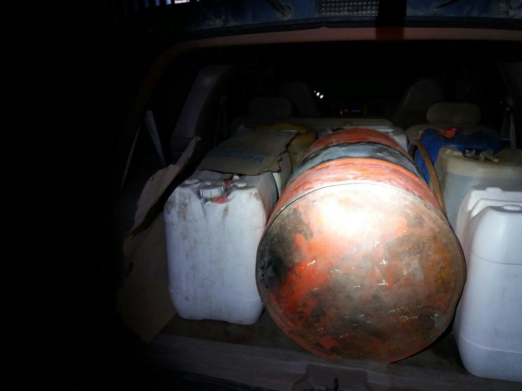 PF recupera 8 mil litros de gasolina robada y detiene a 8 implicados