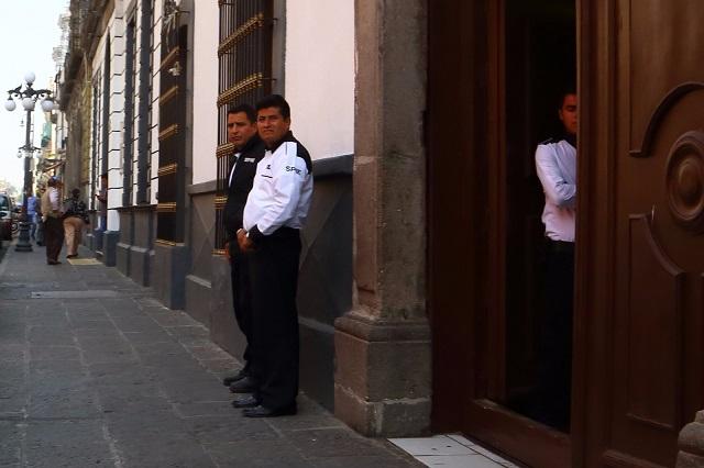 Releva Congreso a la Policía Auxiliar por seguridad privada