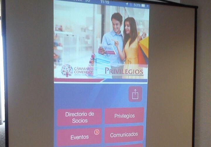 Presentan la aplicación Privilegios Canaco para sus 7 mil socios