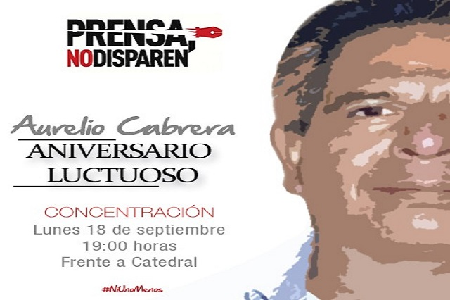 A 1 año del crimen de Aurelio Cabrera, la investigación no avanza, denuncian