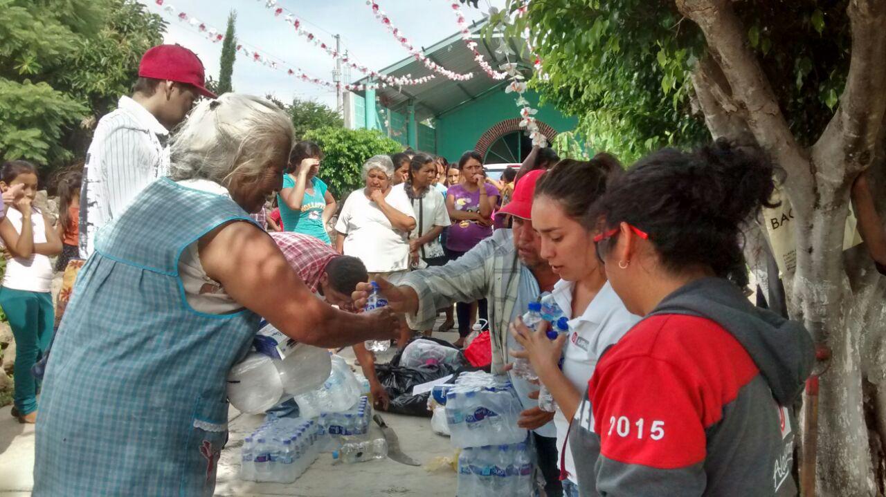 UPAEP envía 18 toneladas más para comunidades de Puebla y Oaxaca