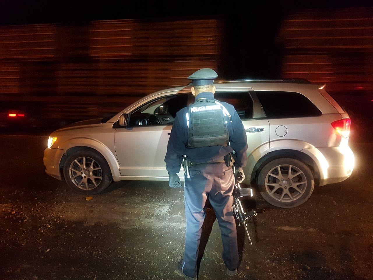 Detienen a 4 presuntos asaltantes de  carreteras en límites  Puebla- Veracruz