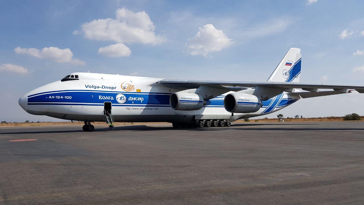 Aterriza En Puebla Uno De Los Aviones De Carga M 225 S Grandes
