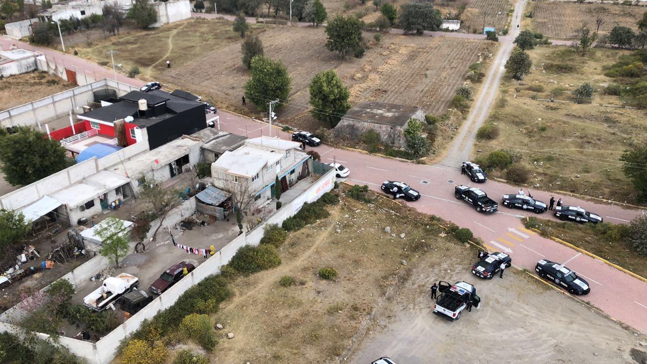 Balacera moviliza a la Policía Federal en Acajete