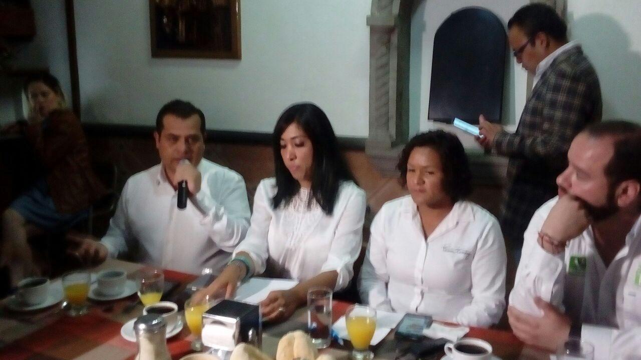 Acusan en el PVEM al PRI por desvíos e imponer candidatos