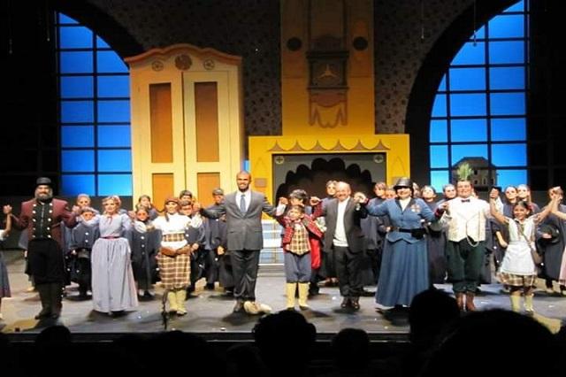 El Pequeño Deshollinador, ópera infantil, en el Teatro Principal
