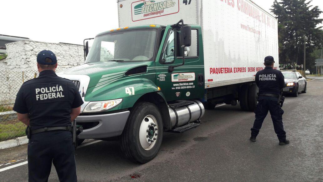 Rescatan a 5 transportistas plagiados sobre la Puebla-Orizaba