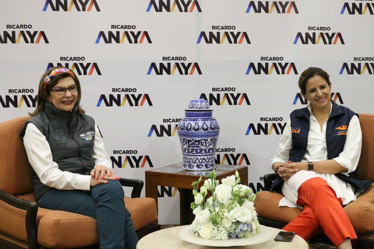 Aunque no se vea, sí hay campaña en Puebla por Anaya: senadoras