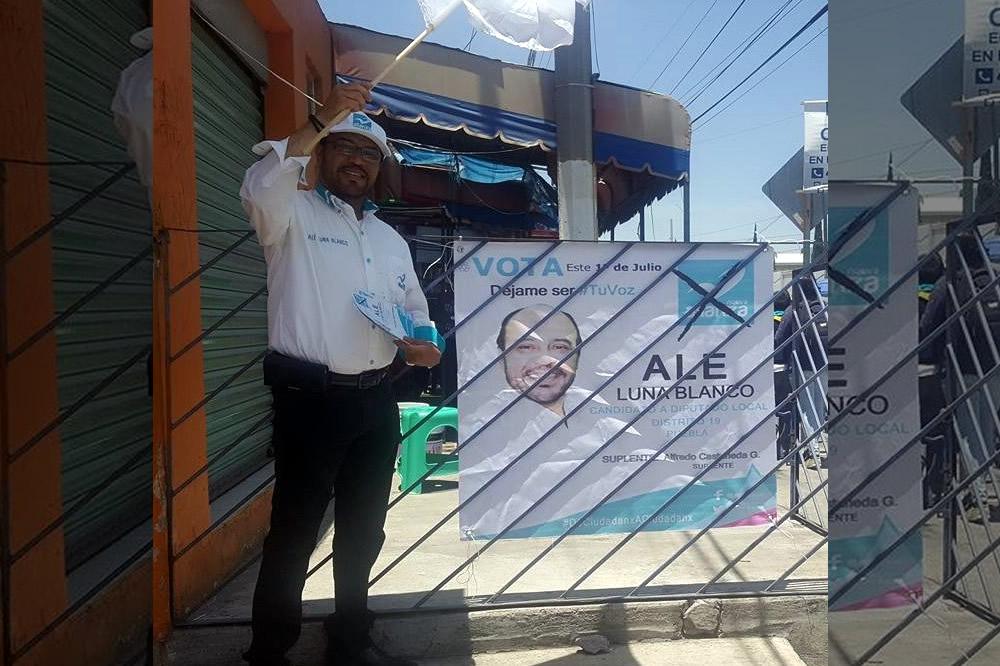 Fallece por infarto candidato del Panal a diputado local