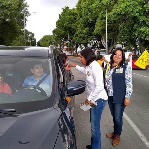 CEN del PRD respalda a Roxana Luna en la recta final de campaña