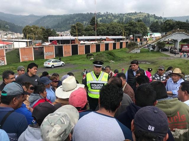 Reabren la autopista México-Puebla tras acuerdo con manifestantes