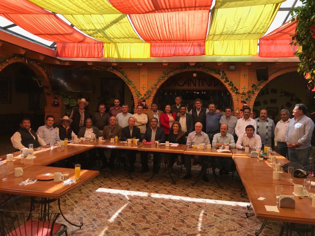 Se reúne grupo Renovación del PRI para repasar acciones y estrategias