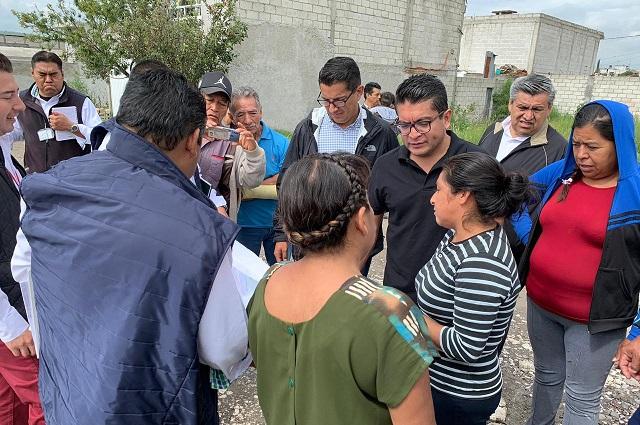 Agua de Puebla escucha a usuarios y atiende peticiones en colonias