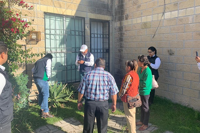 Agua de Puebla atiende a usuarios en colonias del sur-oriente de la capital