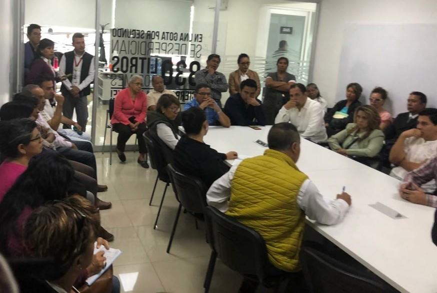 Agua de Puebla escucha a colonos del nororiente de Puebla capital