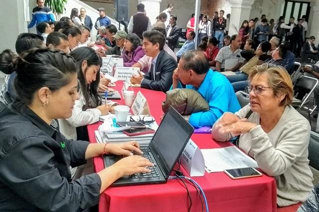 Atiende Agua de Puebla a ciudadanos en Jornadas de Atención