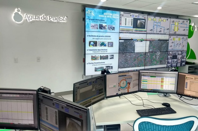 En Puebla, el control del servicio de agua más moderno del país: AP
