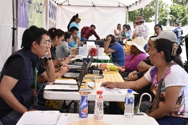 Agua de Puebla acerca servicio a colonias con Caravanas del agua