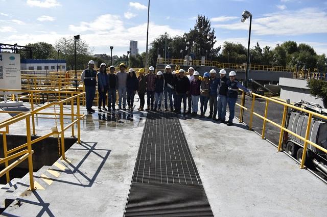 Agua de Puebla fomenta la cultura de ahorro del agua