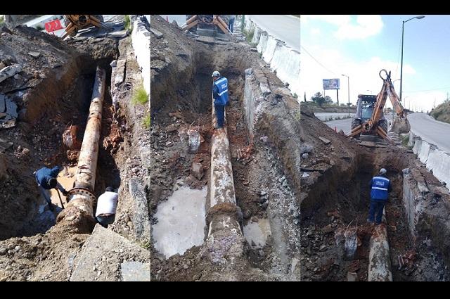 Agua de Puebla repara fuga en Sistema Acuaférico