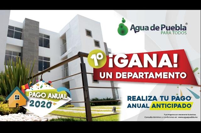 Sorteo de 20 premios, con pago anticipado en Agua de Puebla