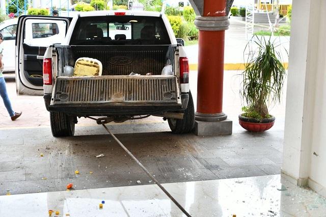 Abandonan en Tlaltenango la patrulla robada en Coronango
