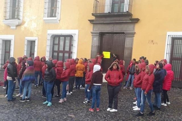 Normalistas buscan dialogar con el gobernador Barbosa