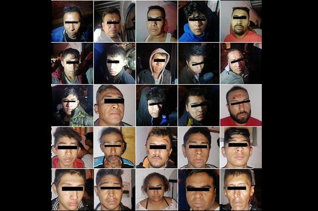 Por secuestro, seguirán en prisión los 38 cómplices de El Grillo