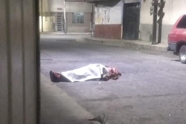 Ejecutan a un hombre en pleno centro de Texmelucan