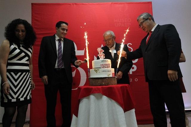Inauguran actividades por el 25 aniversario del Museo Upaep