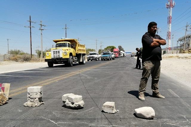 Protestan por falta de obras e inseguridad de Miahuatlán