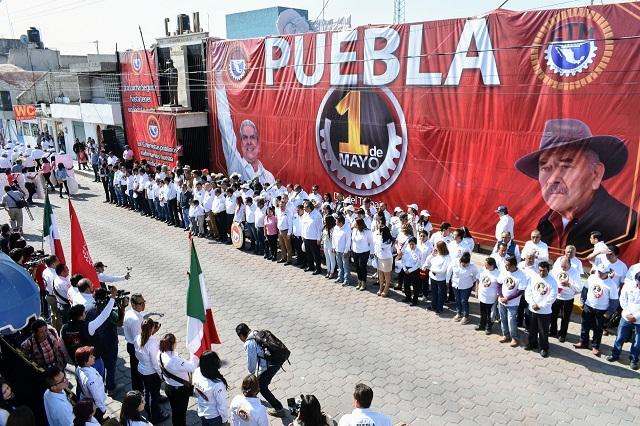 CTM Puebla no desfilará el Día del Trabajo por Covid-19