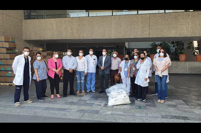 Diputados federales donan equipo a hospitales La Margarita y San José