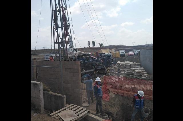 Por segunda vez, acusan perforación ilegal de pozo en Almecatla