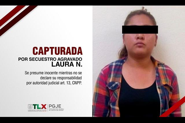 Secuestradora que operaba en Puebla fue detenida en Tlaxcala