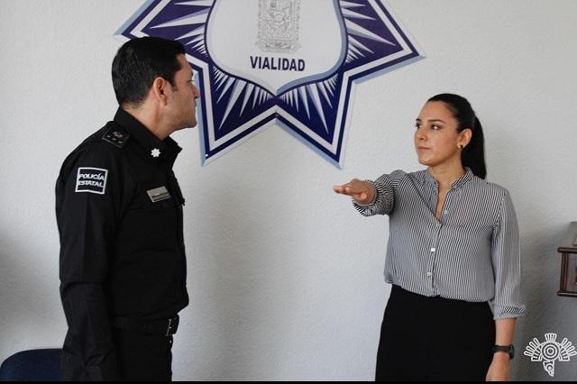 Llega de Chiapas nueva directora de Vialidad Estatal de Puebla