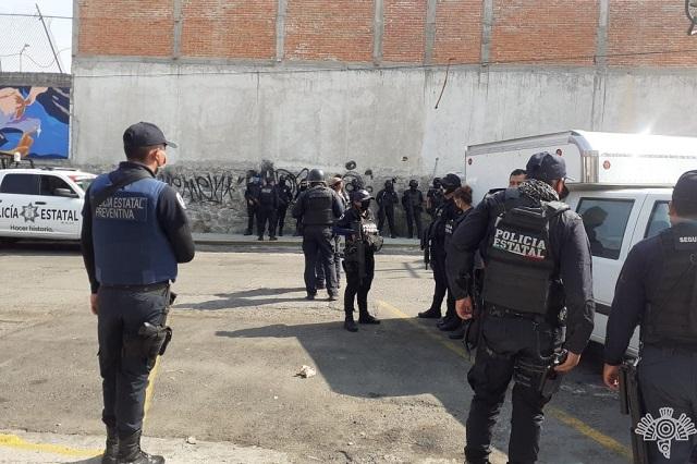 Recuperan en La Acocota 19 locales tomados por el narco