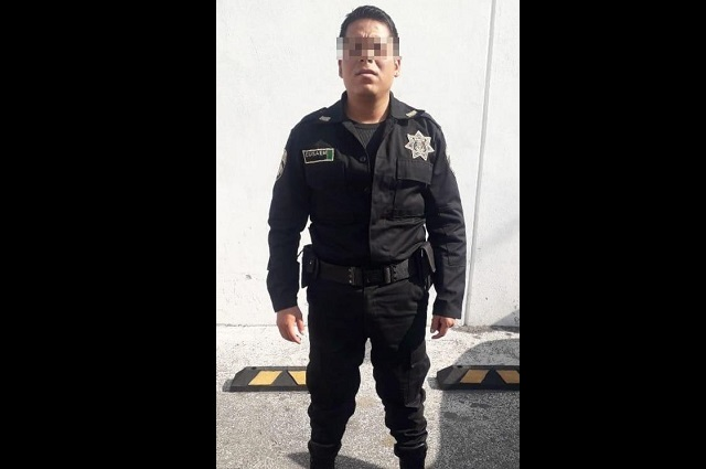 Guardias de banco en Angelópolis portaban arma sin permiso