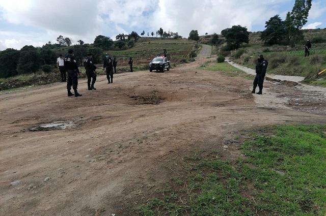 Localizan toma clandestina en ducto de Pemex en Tlalancaleca