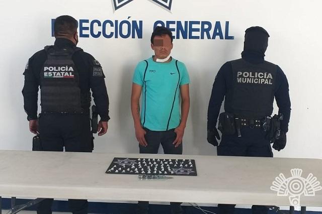 Detienen a miembro de la banda Los Rosales, en Tehuacán